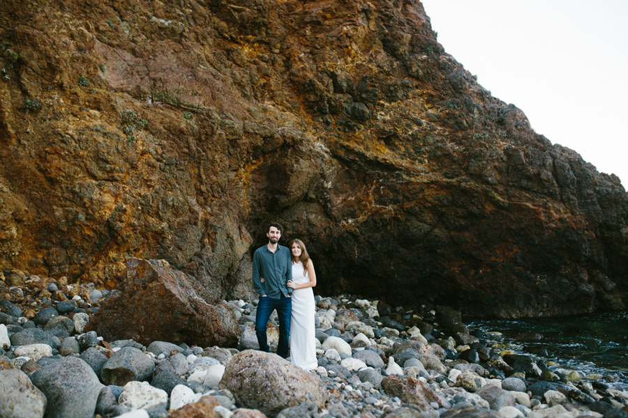 Santa Cruz Island Engagement, Santa Cruz Island, Island Engageme