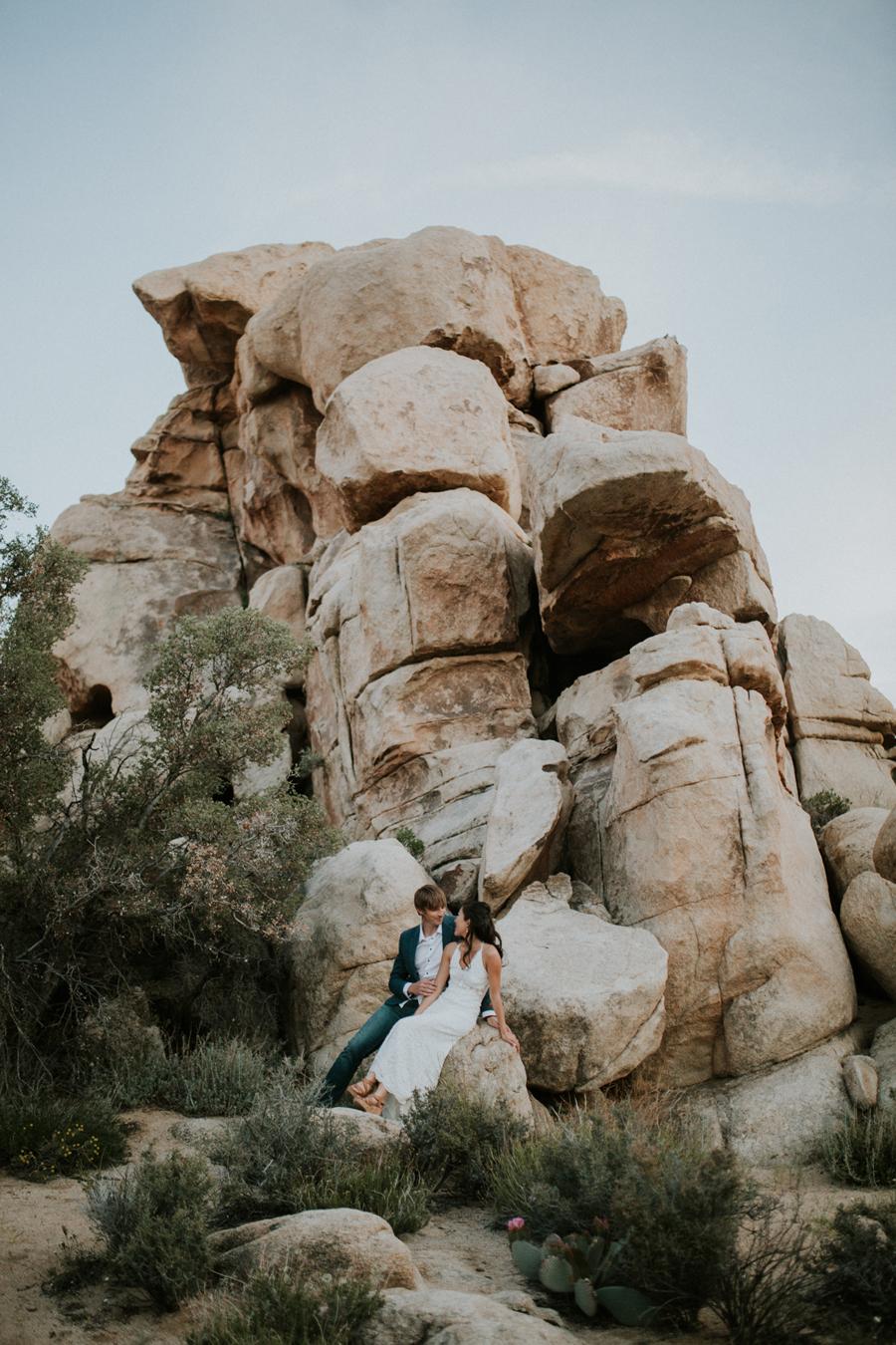 Joshua Tree Engagement Photoshoot
