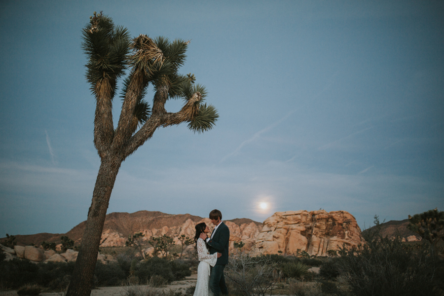 Joshua Tree Engagement Photoshoot